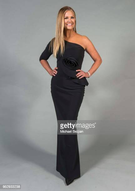 Nancy O'Dell poses for portrait at 45th Daytime Emmy Awards Portraits by The Artists Project Sponsored by the Visual Snow Initiative on April 29 2018...