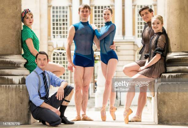 Nancy Osbaldeston Barry Drummond from the English National Ballet Christopher Harrison Amy Hadley from the Scottish Ballet and Eleesha Drennan and...