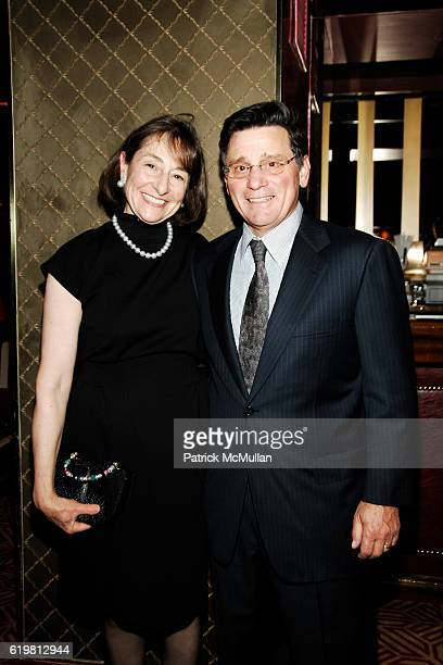 Nancy Paduano and Dan Paduano attend CHARLOTTE MOSS Hosts Book Launch oF JAKE THE BALLET DOG By KAREN LE FRAK at Doubles Club on October 27 2008 in...