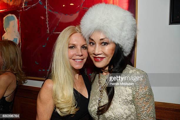 Nancy Pearson and Lucia Hwong Gordon attend Leesa Rowland Ramona Singer R Couri Hay Cornelia Guest Salute Animal Ashram @ Chez Couri at Chez Couri on...
