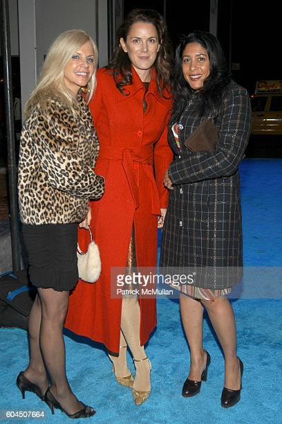 Nancy Pearson Kim Hicks and Julie Walker attend The HUGO BOSS Prize 10th Annual Party at Guggenheim Museum on November 14 2006 in New York City