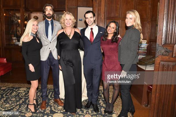 Nancy Pearson Nick Pantano Kim Charlton Jorel Roth Stephanie Wajntraub and Krista Krieger attend the Empower Africa 2018 Gala at Explorers Club on...