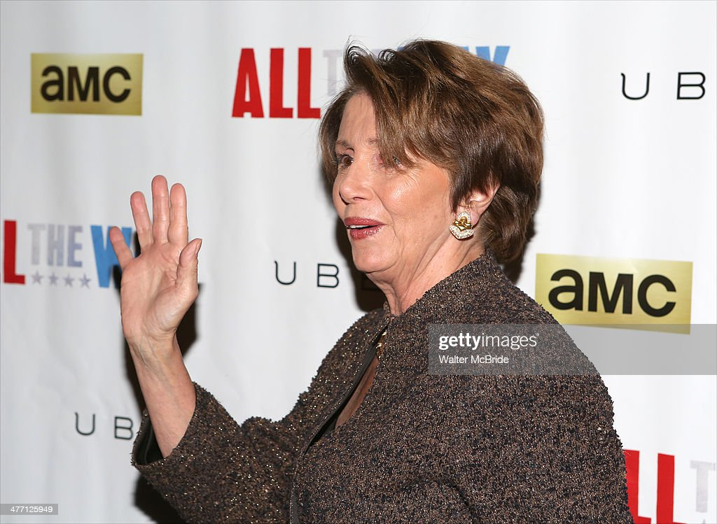 Nancy Pelosi, attends 'All The Way' opening night at Neil Simon Theatre on March 6, 2014 in New York City.