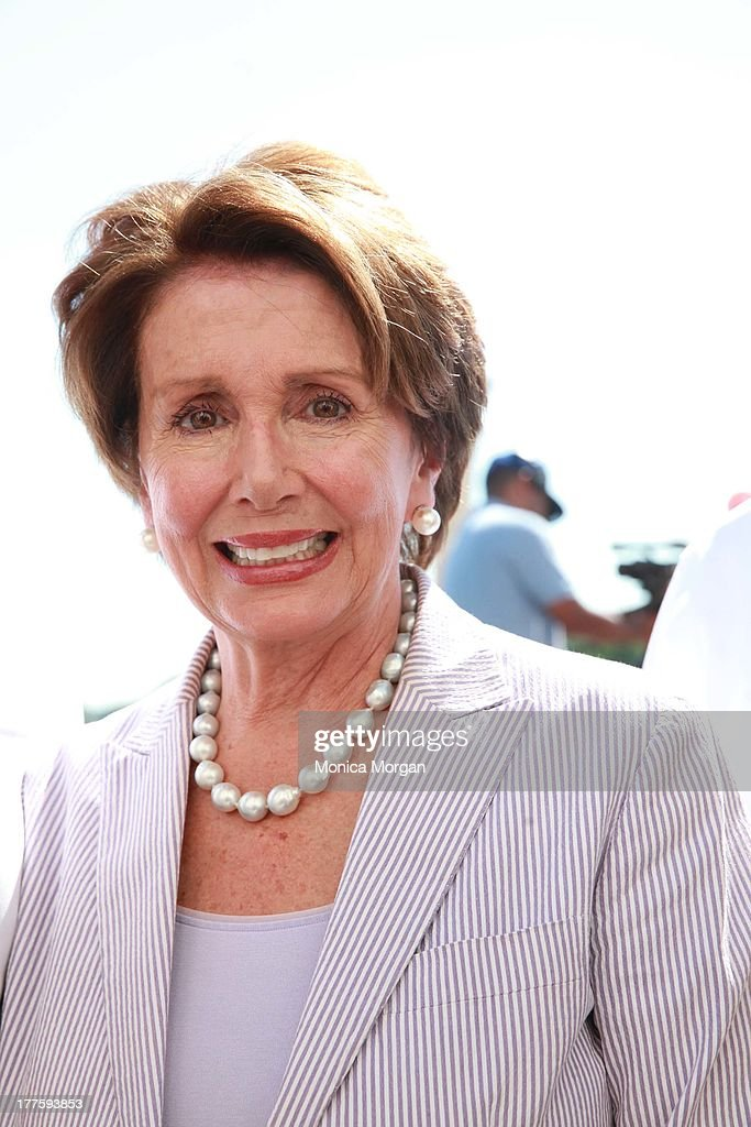 Nancy Pelosi attends the 50th Anniversary Of Martin Luther King's March On Washington on August 24, 2013 in Washington, DC.