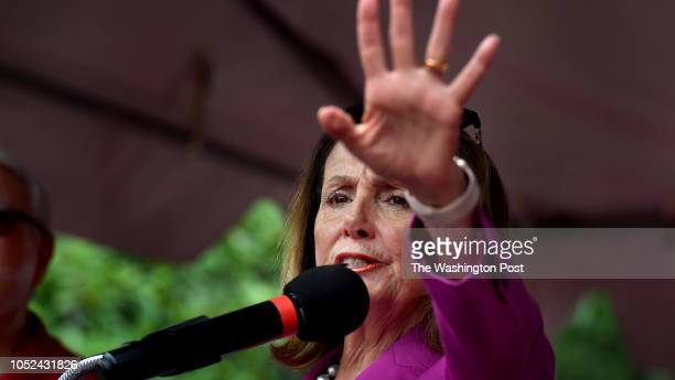 Nancy Pelosi Minority Leader of the United States House of Representatives stopped by a prounion rally today to speak and lend her support to their...