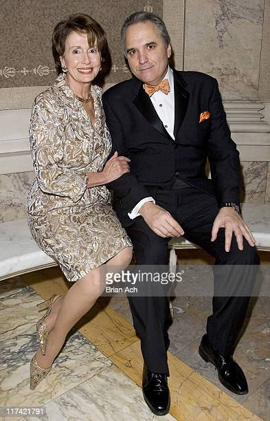 Nancy Pelosi Speaker of the House and Vin Roberti