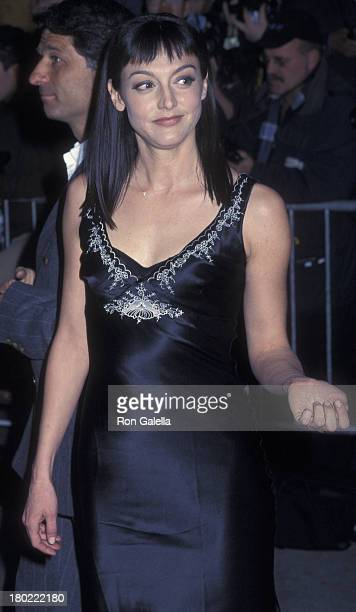 """Nancy Pimental attends the world premiere of """"The Sweetest Thing"""" on April 8, 2002 at Loew's Lincoln Square Theater in New York City."""