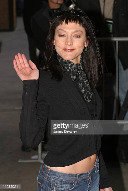 """Nancy Pimental during """"Enough"""" New York City Premiere at Loews Theatres in New York City, New York, United States."""