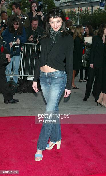 Nancy Pimental during Enough New York City Premiere at Loews Theatres in New York City, New York, United States.