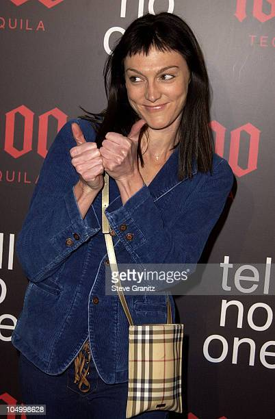 Nancy Pimental during Tell No One: 1800 Hosts Hollywood's Hottest Talent At Exclusive Party - Arrivals at Chateau Marmont in West Hollywood,...