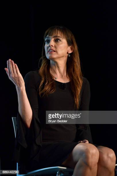 Nancy Pimental speaks onstage at the Shamless panel during the 2017 Vulture Festival at Milk Studios on May 21, 2017 in New York City.