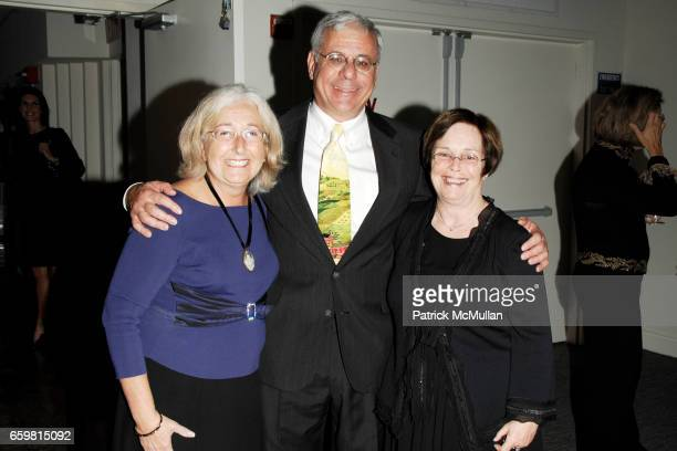 Nancy Pressman Jeffrey Pressman and Laura Parsons attend American Folk Art Museum's Gala Celebrating Advocates for the Arts at Tribeca Rooftop on...
