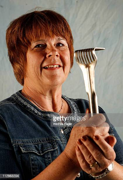 Nancy Purkee and her potato masher