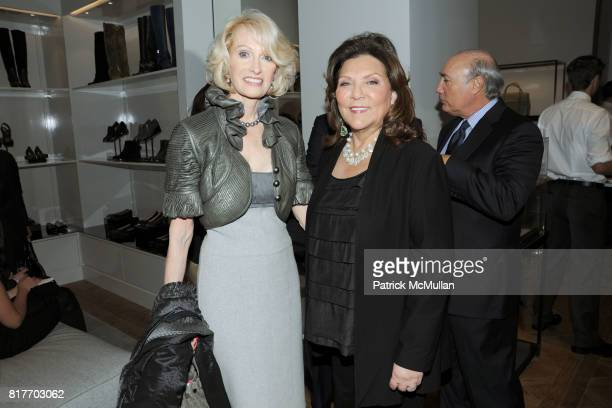 Nancy Raquet and Judith Ripka attend REED KRAKOFF Host's Evening to Celebrate THE BREAST CANCER REASEARCH FOUNDATION at Reed Krakoff on October 25th...