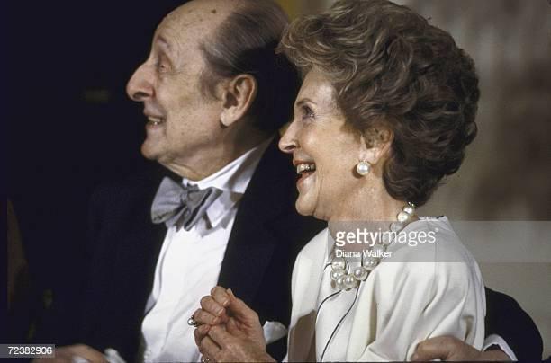 Nancy Reagan with Vladimir Horowitz