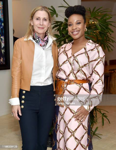 Nancy Ross and Chinonye Chukwu attend the Los Angeles Special Screening of Clemency on December 12 2019 in Los Angeles California