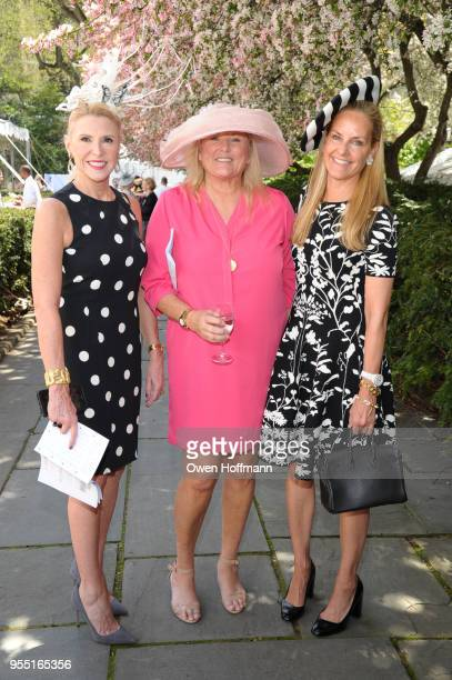Nancy Sambuco Courtney Arnot and Libby Fitzgerald attend 36th Annual Frederick Law Olmsted Awards Luncheon Central Park Conservancy at The...
