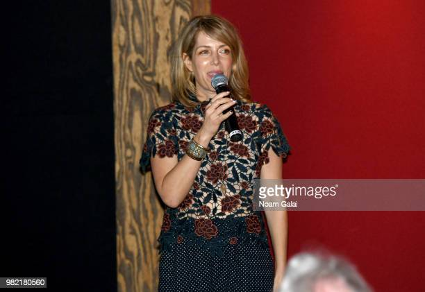 Nancy Schwartzman attends the screening of 'Roll Red Roll' at the 2018 Nantucket Film Festival Day 4 on June 23 2018 in Nantucket Massachusetts