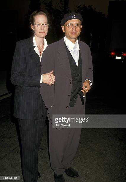Nancy Sheppard and Joe Pantoliano during Celebrity Auction to Benefit LA Youth Network October 1 1996 at Smashbox Studios in Culver City California...