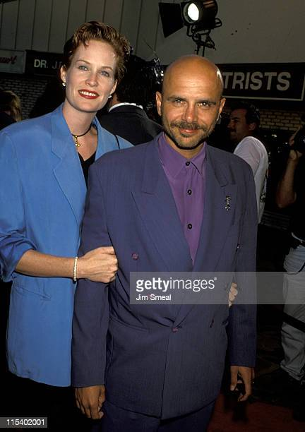 Nancy Sheppard and Joe Pantoliano during The Fugitive Los Angeles Premiere at Mann's Village Theater in Westwood California United States