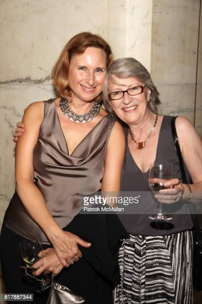Nancy Sheppard and Kathryn Court attend Penguin Books Celebrates 75 Years at New York Public Library on September 23 2010 in New York
