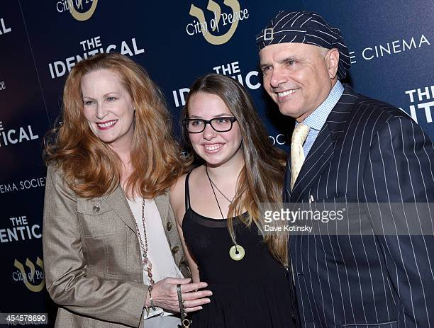 Nancy Sheppard Isabella Pantoliano and actor Joe Pantoliano attend City Of Peace Films With The Cinema Society Host The World Premiere Of The...