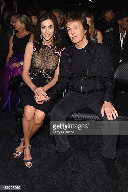 Nancy Shevell and recording artist Paul McCartney attend The 57th Annual GRAMMY Awards at the STAPLES Center on February 8 2015 in Los Angeles...