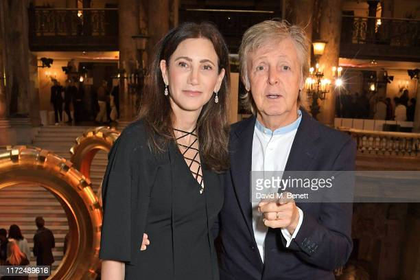 Nancy Shevell and Sir Paul McCartney attend the Stella McCartney Womenswear Spring/Summer 2020 show as part of Paris Fashion Week on September 30,...