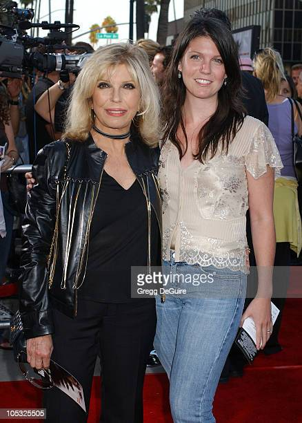"""Nancy Sinatra and daughter AJ during """"The Manchurian Candidate"""" Los Angeles Premiere at The Academy in Beverly Hills, California, United States."""