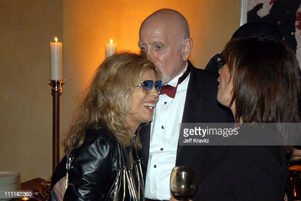 Nancy Sinatra and Dominic Chianese during HBO Screen Actors Guild Party at Spago in Beverly Hills CA United States