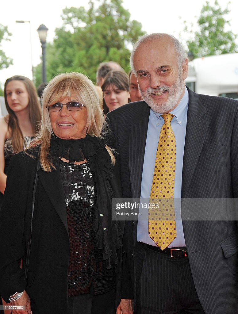 Nancy Sinatra and Don Jay Smith , Executive Director of the New Jersey Hall of Fame attend the 2011 New Jersey Hall of Fame Induction Ceremony at the New Jersey Performing Arts Center on June 5, 2011 in Newark, New Jersey.