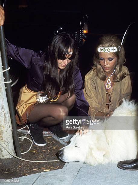 Nancy Sinatra and friends during Nancy Sinatra Sighting at Daisy Club in Beverly Hills May 25 1968 at Daisy Club in Beverly Hills California United...