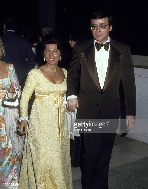 Nancy Sinatra and Ross Hunter during Nancy Sinatra Sr File Photo California United States