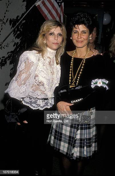 Nancy Sinatra and Tina Sinatra during Birthday Party for Amanda Lambert - March 17, 1990 at Jimmy's Restaurant in Beverly Hills, California, United...