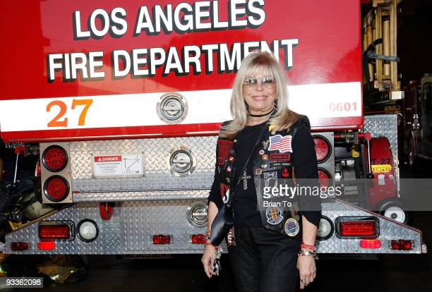 Nancy Sinatra attends Hollywood Chamber Of Commerce's Police And Firefighters Appreciation Day on November 24 2009 in Hollywood California
