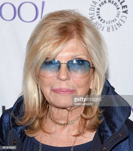 Nancy Sinatra attends The Paley Center for Media presents Paley Centennial Salute to Frank Sinatra at The Paley Center for Media on July 24 2015 in...