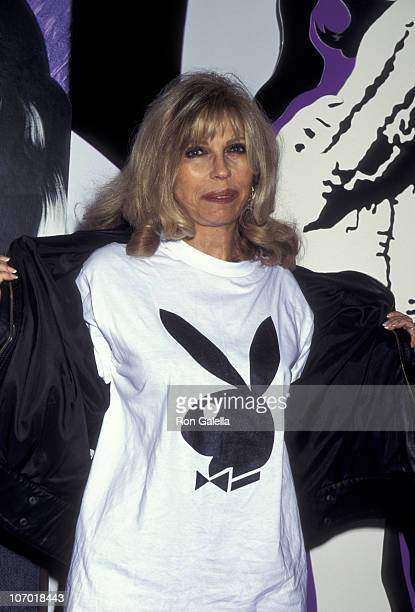 Nancy Sinatra during Autographing Playboy Magazine 1960's Album Reissue at Tower Records in New York City New York United States