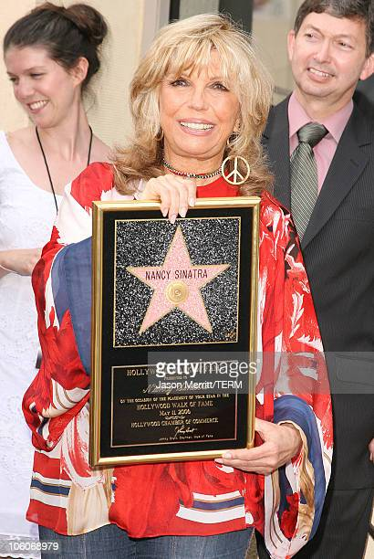 Nancy Sinatra during Nancy Sinatra Recieves A Star On The Hollywood Walk of Fame at The Hollywood Walk of Fame in Hollywood, California, United...