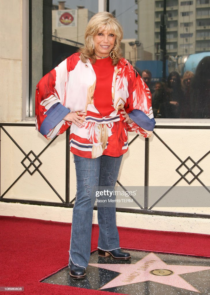 Nancy Sinatra Recieves A Star On The Hollywood Walk of Fame