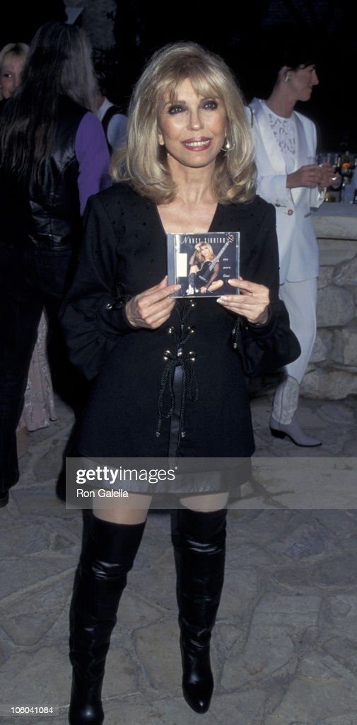 Nancy Sinatra during Playboy Magazine Party for Nancy Sinatra Jr. at Playboy Manshion in Hollywood Hills, California, United States.