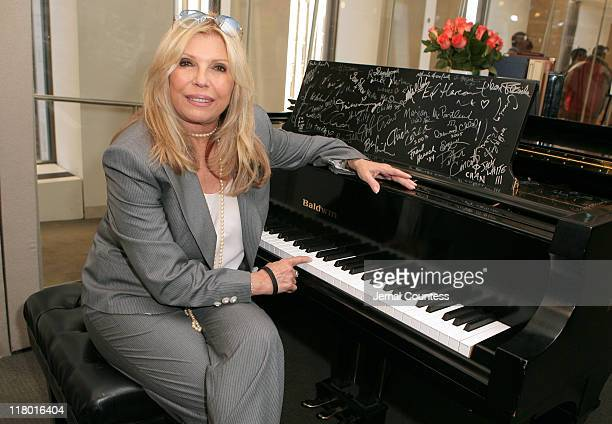 """Nancy Sinatra following the Sirius Radio Press Conference announcing the launch of the """"Siriusly Sinatra"""" channel on Sirius Satellite Radio on..."""