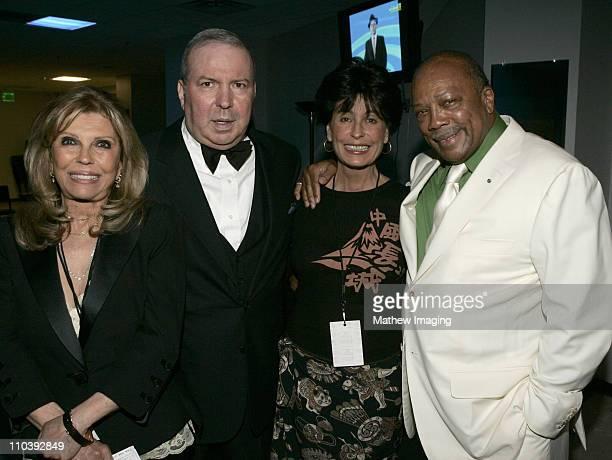 Nancy Sinatra Frank Sinatra Jr Tina Sinatra and Quincy Jones *Exclusive Coverage*
