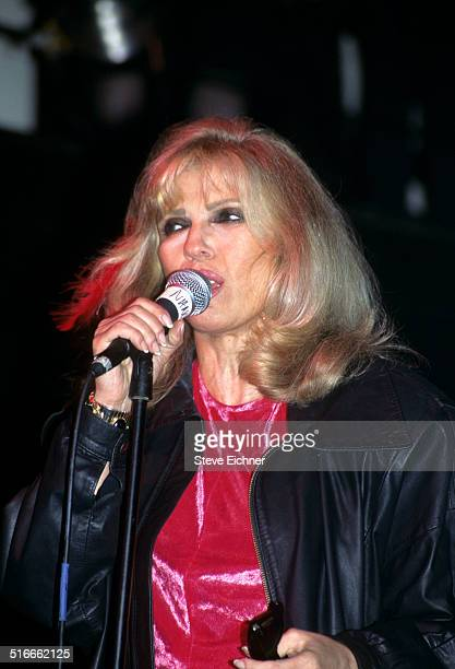 Nancy Sinatra performs at Limelight Club, New York, May 10, 1995.