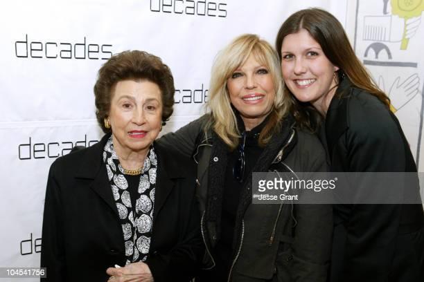 Nancy Sinatra, Sr. With daughter Nancy Sinatra and grandaughter Amanda Erlinger