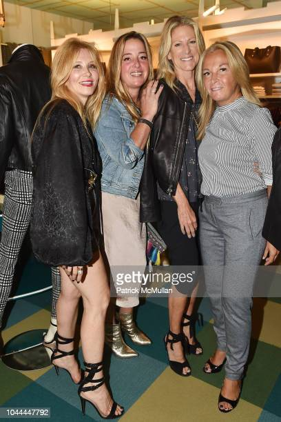 Nancy Slagowitz Claudia Bell Amy Tapper and Glynis Karp attend JMcLaughlin Fall Kickoff Benefiting Project ALS at JMcLaughlin on September 13 2018 in...