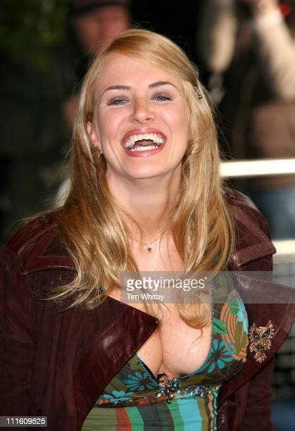 Nancy Sorell during The South Bank Show Awards 2006 Arrivals at The Savoy in London Great Britain