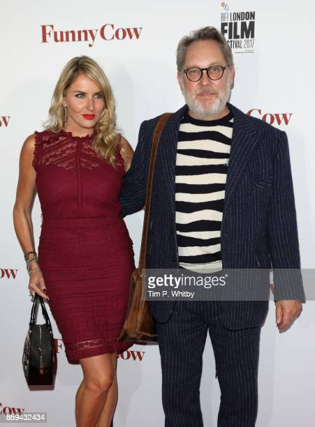 Nancy Sorrell and actor Jim Moir attend the World Premiere of Funny Cow during the 61st BFI London Film Festival on October 9 2017 in London England