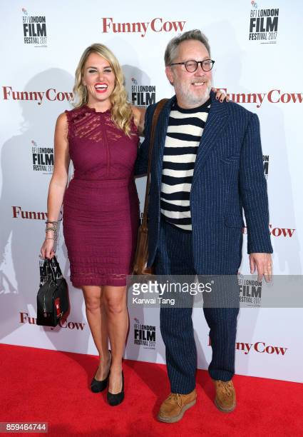 Nancy Sorrell and Jim Moir attend the World Premiere of Funny Cow during the 61st BFI London Film Festival at the Vue West End on October 9 2017 in...