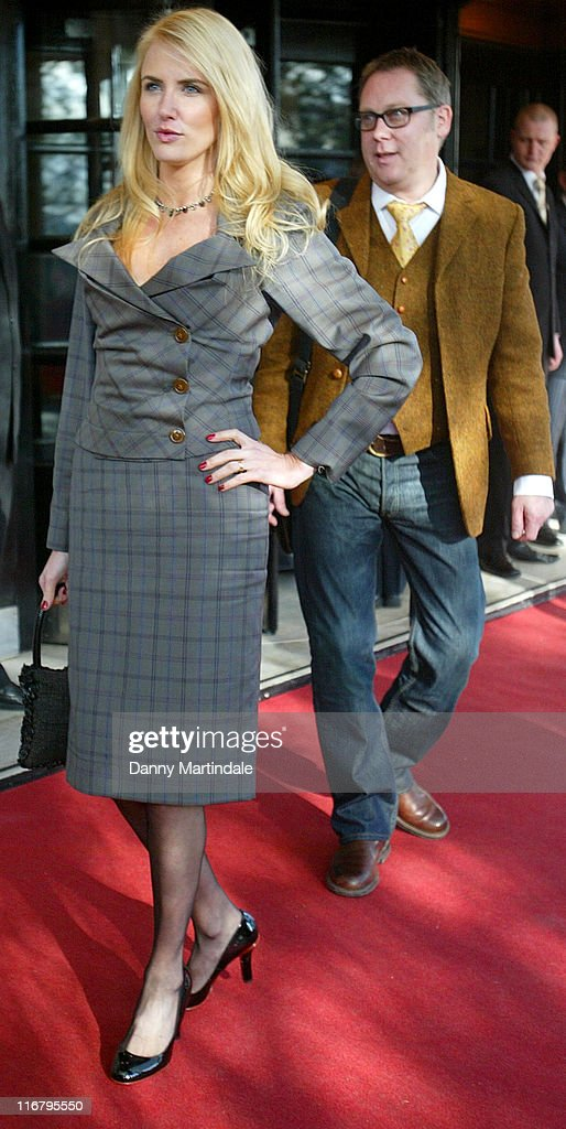 Nancy Sorrell and Vic Reeves during South Bank Show Awards 2007 at The Savoy in London, Great Britain.