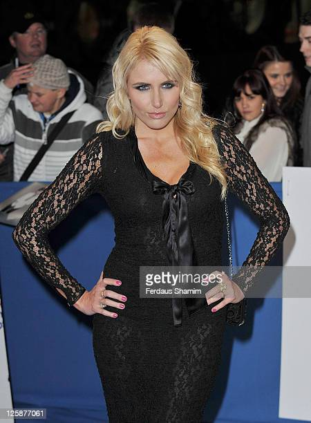 Nancy Sorrell attends British Comedy Awards at Indigo at O2 Arena on January 22 2011 in London England